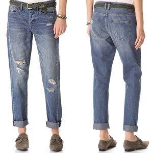 Madewell Rivet & Thread Worker Jean Size 28